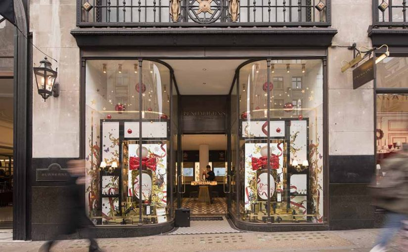 "A VERY PENHALIGON'S CHRISTMAS"" SHORTLISTED FOR A RETAIL DESIGN WORLD AWARD AT RETAIL DESIGN EXPO 2017!"
