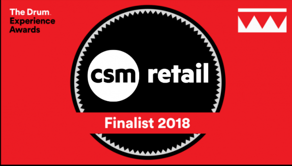 CSM Retail, finalist at The Drum Experience Awards